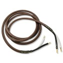 Analysis Plus Chocolate Oval 12/2 Speaker Cables (2.4m)