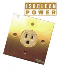 Ổ cắm điện IsoClean ICP-001 AG Power Wall Socket