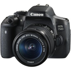 Canon EOS 750D kit (Ống kính EF-S 18-55 IS STM)