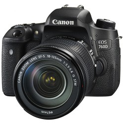Canon EOS 760D kit (Ống kính EF-S 18-135 IS STM)
