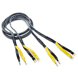 Analysis Plus Black Mesh Oval 9 Speaker Cables (2.4m)