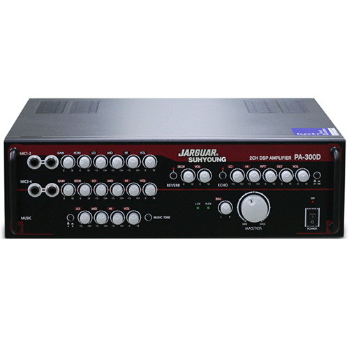 Jarguar Mixer Amplifier PA-300D