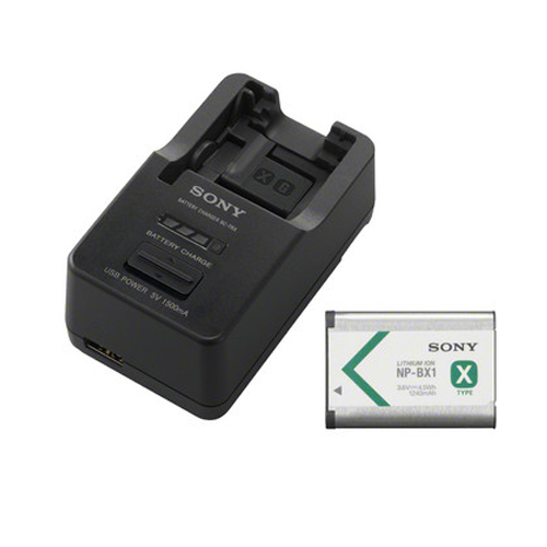 Sony ACC-TRBX (Battery and Charger Kit with NP-BX1 Battery)