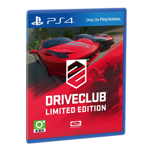 Drive Club Limited Edition (PS4)