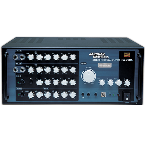 Jarguar Mixer Amplifier PA-700A